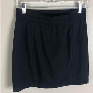 Adidas Matte Black Golf/Tennis Skirt